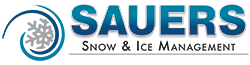Sauers Snow & Ice Management Sticky Logo