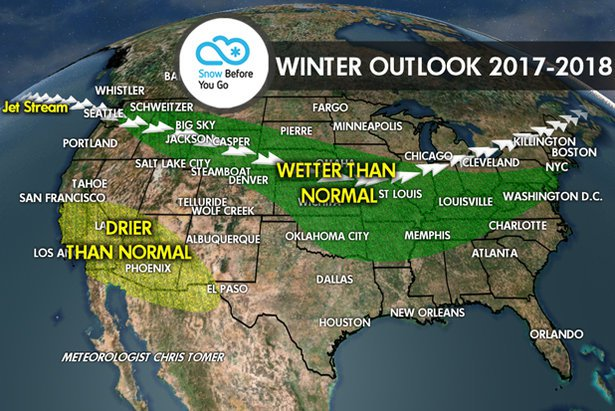 2018 winter weather predictions