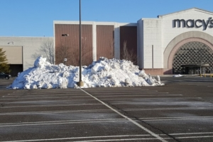 snow removal commercial lots
