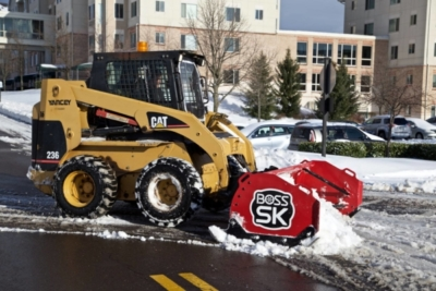Sauers_CAT_Snow Removal Company