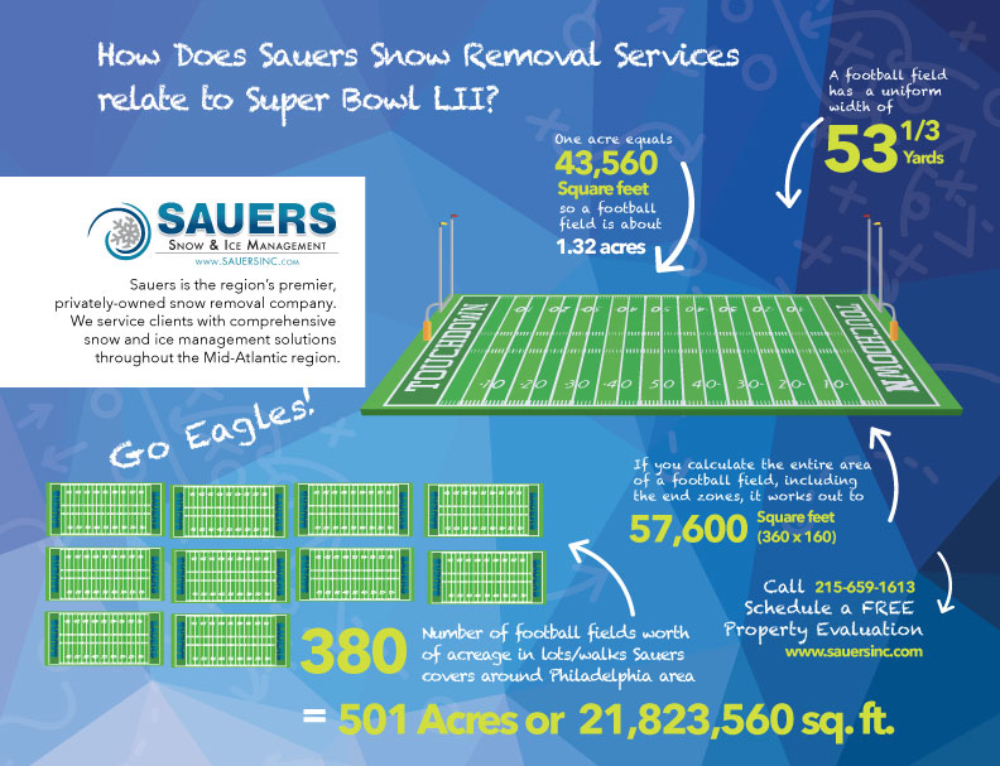 How Does Sauers Snow Removal Services Relate to Super Bowl LII?