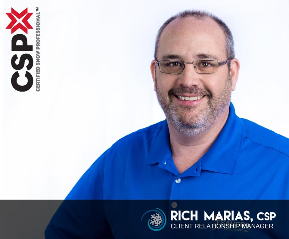 Rich Marias Achieves Certified Snow Professional Certification (CSP)