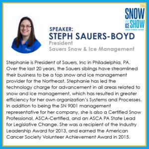 Stephanie Sauers-Boyd - 2018 Snow and Ice Show