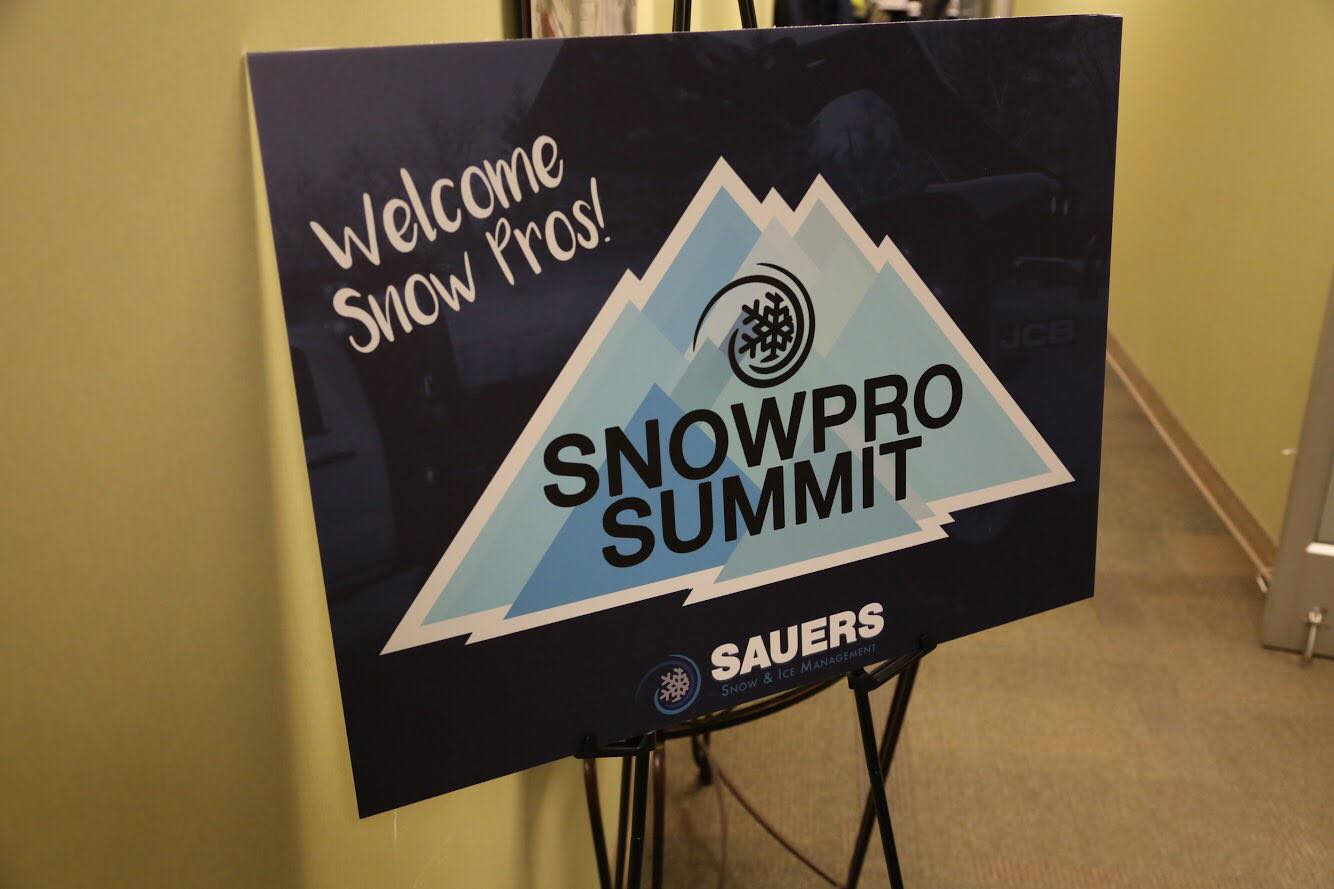 Snow Pro Summit 2018 – Snow Removal Training with Sauers