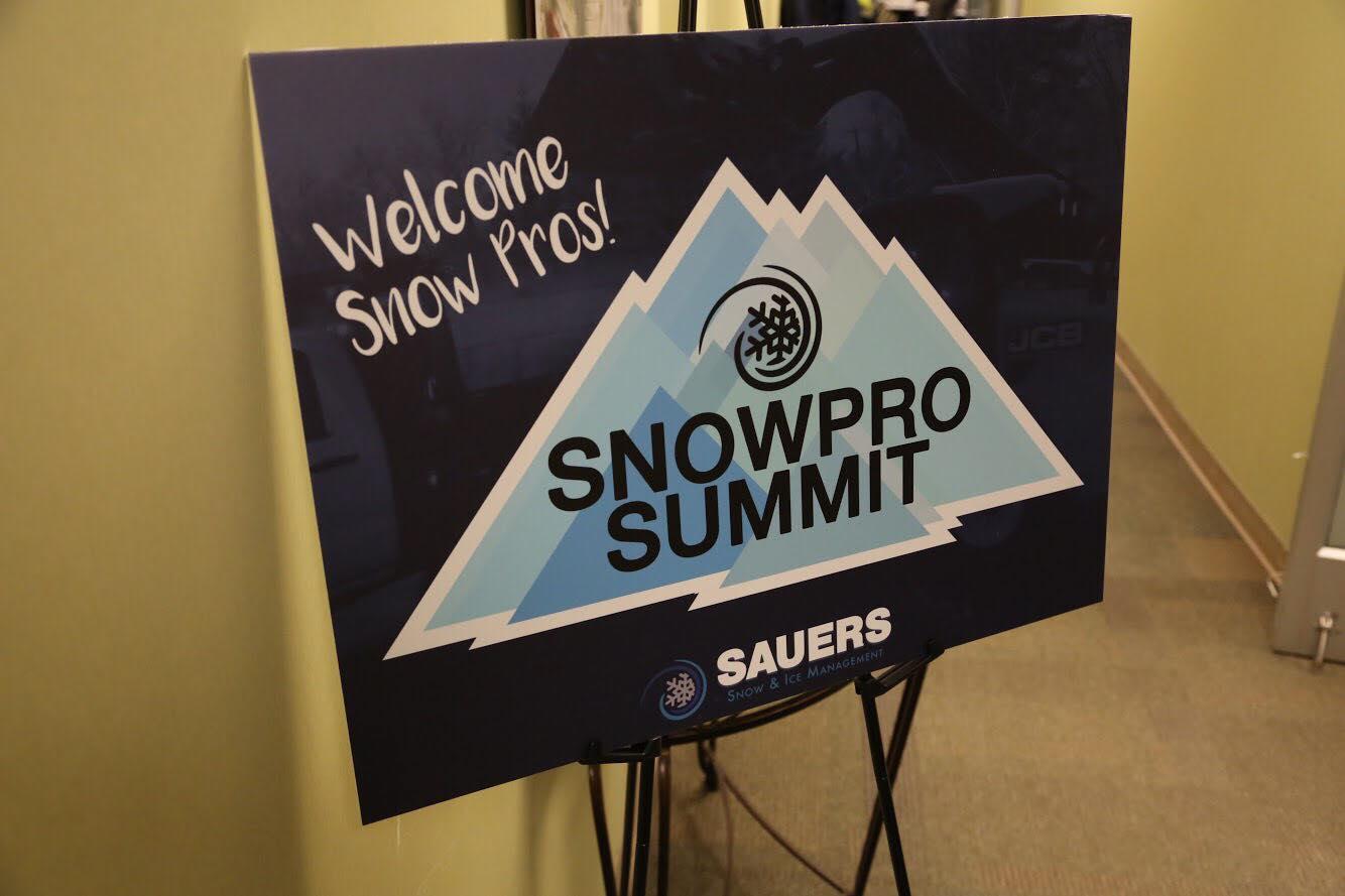 snow removal training - Sauers Snow Pro Summit 2018